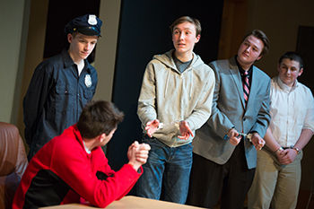 "The Drama Club Presents Winter Play, ""Slacktivist"""