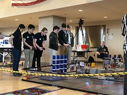Robotics Team Competes in Qualifying Tournaments
