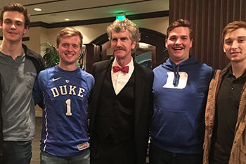 Headmaster Burke Connects with Alumni at Duke