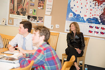 Trustees Make Annual Classroom Visits
