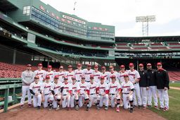 Varsity Baseball Plays at Fenway Park