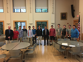 Finance Academy Welcomes Back Brian Mulvey P'17, '22