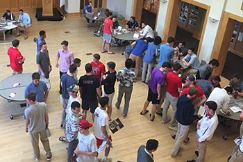 Grade 11 College Night Welcomes Recent Graduates Back to Campus