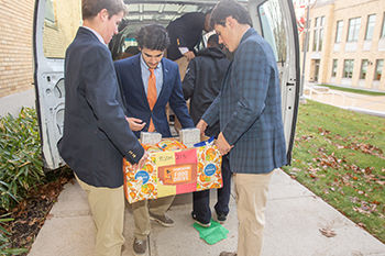 NHS Sponsors Annual Thanksgiving Food Drive