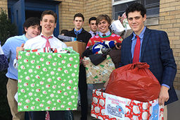 Arrows Wrap Gifts for Annual Christmas Warmth Drive