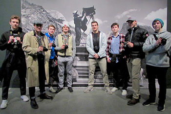 AP Photography Students Visit Ansel Adams Exhibt at the MFA