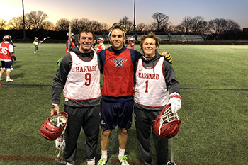 Patrick Healy '13 Becomes First Arrow to Play Lacrosse Professionally