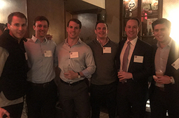 St. Sebastian's Alumni Gather for Reception in NYC