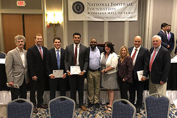 Two Arrows Recognized by the National Football Foundation